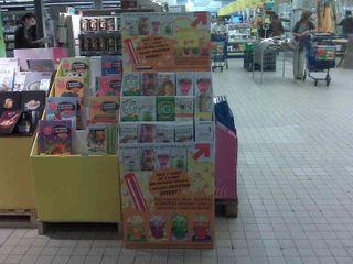 PLV chez Carrefour