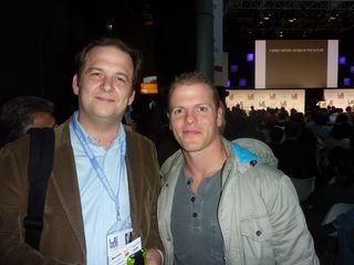 Tim Ferriss et Stéphane Leduc @LeWeb09