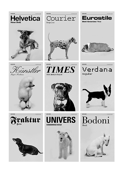 Chien-typographes