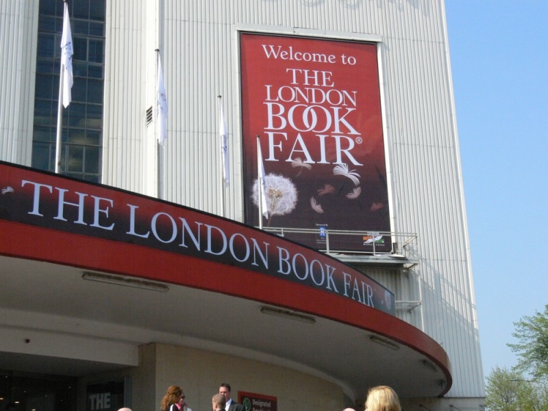 London Book Fair at Earls Court