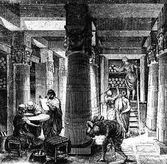 La Bibliothèque d'Alexandrie