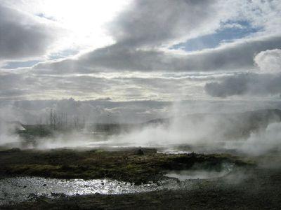 Islande Geysir