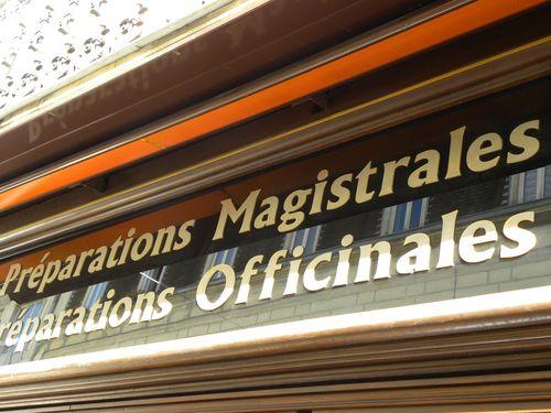 Préparations officinales et magistrales