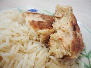 Croquettes au saumon