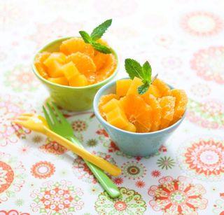 Salade oranges menthe detox