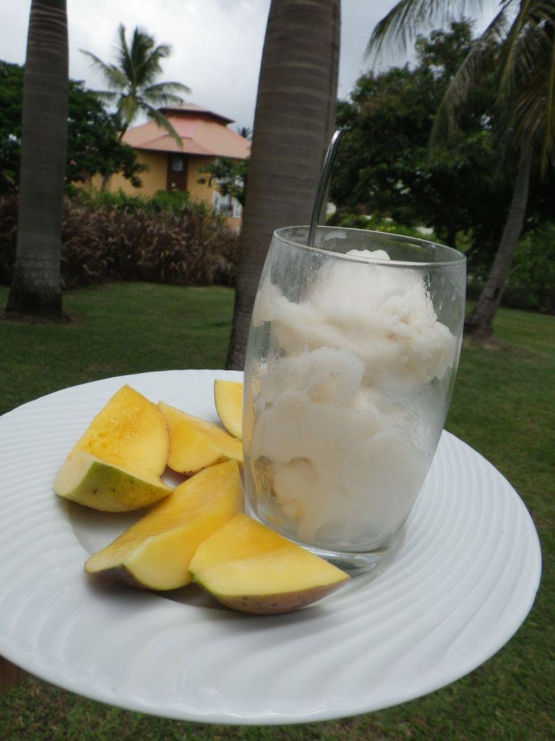 Sorbet corossol, mango