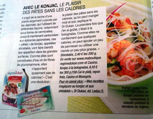 Top sante n°fev2012 Dukan + Konjac