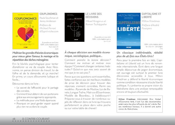 Catalogue LEDUCS 2012_AContreCourant