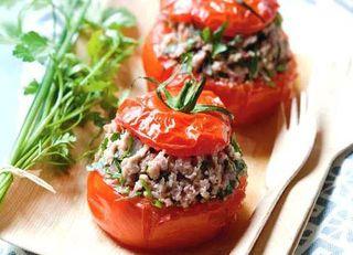 tomates farcies photo couverture copyright valerie lhomme