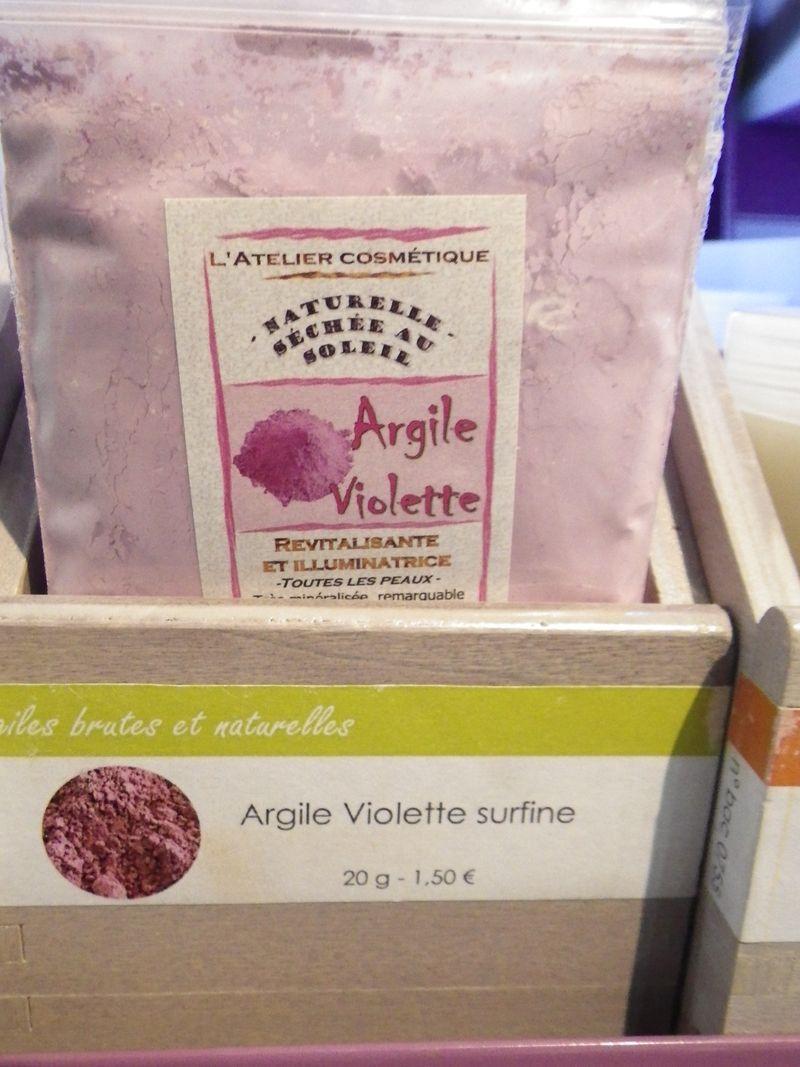 Argile violette