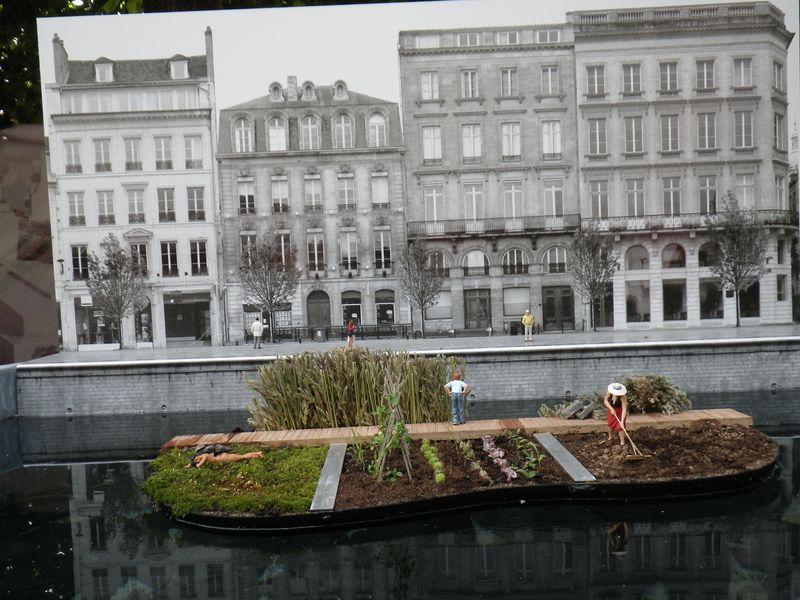 Maquette Hortillonnages Amiens