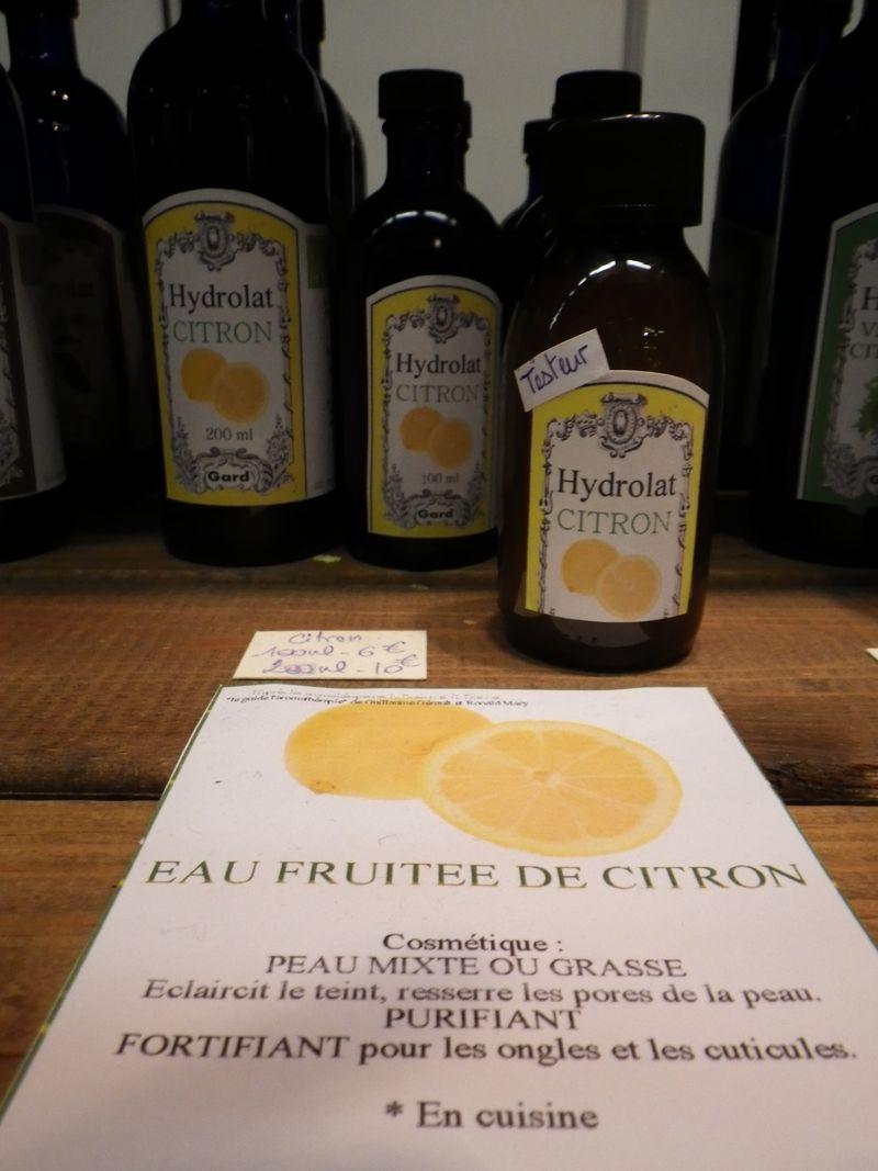 Hydrolat citron