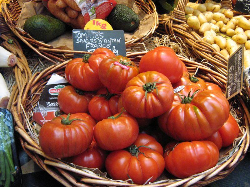 Tomates saveurs d'antan autrefois