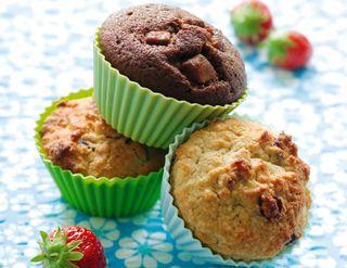 Muffins sans gluten - Photo de Valérie Lhomme