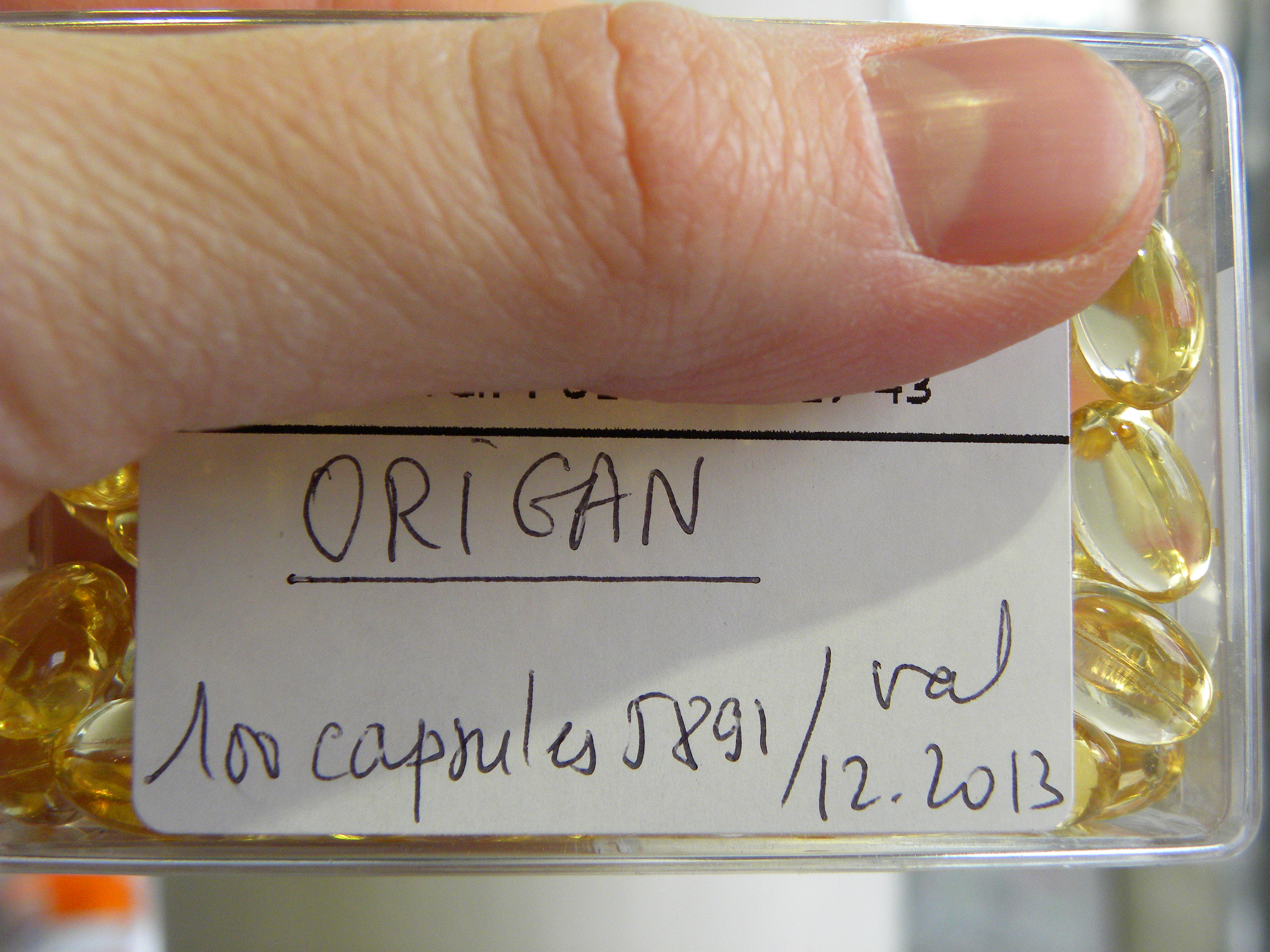 capsule origan