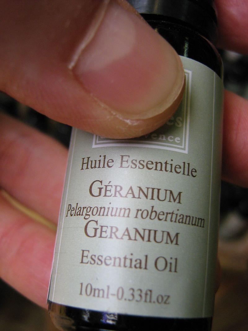 He géranium